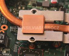 Toshiba Satellite L305D L300D GPU Copper Shim Kit For V000138070 V000138200