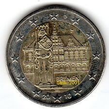 2 EURO COMMEMORATIVO GERMANIA 2010 FDC Brema