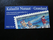 GROENLAND (danemark) - timbre - yt carnet n° C292a nsg (Z1) stamp greenland