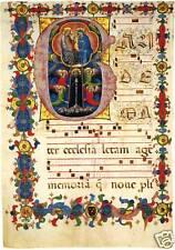 Illuminated Manuscripts: St. Dominic in G - Art Print
