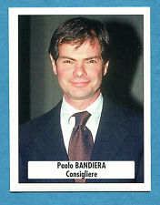BOLOGNA 96-97 -Ediland- Figurina-Sticker n. 12 -PAOLO BANDIERA - CONSIGLIERE-New