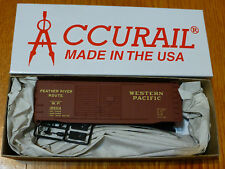 Accurail Ho #3629 Western Pacific 40' Aar Steel Dbl Dr