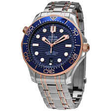 Omega Diver 300M Automatic Chronometer 42 mm Blue Dial Men's Watch