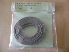 Lionel 5-Wire Flat Cable 24-Gauge Gray 6 ft.