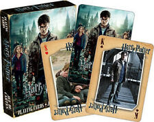 Harry Potter and the Deathly Hallows Part 2 Movie Illustrated Playing Cards, NEW