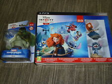 DISNEY INFINITY 2.0 HULK + TOYBOX COMBO PS3 NEW GAME PORTAL BASE 3 FIGURE Stitch