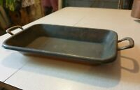Vintage brass/metal/copper tray/planter
