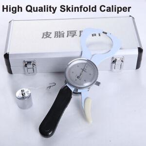Professional Skin Fold Caliper Body Fat Caliper Analyzer Sebum Thickness Meter