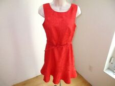 Venus Dress Coral Texture Side Zip Size 6 NWOT #C55
