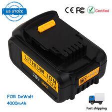 20V 4Ah Li-ion Battery for DEWALT DCB200 DCD780 DCB181 Cordless Drill Driver