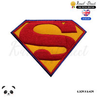 Superman Super Hero Movie Embroidered Iron On Sew On Patch Badge For Clothe etc
