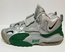 Nike Air Max Speed Turf, Size 8.5, Green & Silver,Training Shoes