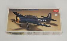 ACADEMY 1/72 WWII U.S.N. GRUMMAN TBF-1 AVENGER Torpedo Bomber Kit # 1651 NIOB