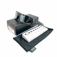 Oakley 12-856 Men's Gascan Matte Black Frame Black Iridium Polarized Lenses