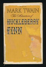 The Adventures of Huckleberry Finn by Mark Twain Vintage Paperback 1964