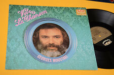 GEORGES MOUSTAKI LP VIVE LA CHANSON ORIG GERMANY EX