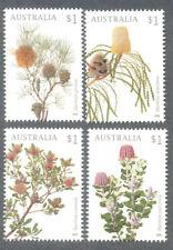 Australia-Banksias-Flowers Feb 2018 set mnh