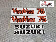 SUZUKI RV RV75 VANVAN 75 DECALS PAIR HIGH QUALITY + LAMINATED