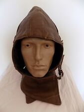 Soviet russian pilot leather helmet before ww2 original