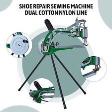 Making Sewing Hand Manual Cotton/Leather/Nylon Needle Diy Shoe Repair Machine