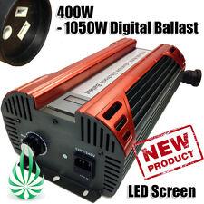 400W-1000W Hydroponic Premium Electronic Digital HPSMH Dimmable No Fan Ballast