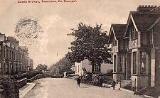 CASTLE AVENUE BUNCRANA DONEGAL IRELAND POSTCARD  by J CASH BUNCRANA SENT 1917