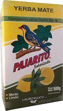 PAJARITO Menta Limón - Mate Tee Mischung mit Zitrone und Minze - Paraguay - 500g
