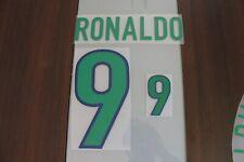 Flocage RONALDO pour maillot BRESIL 1998 patch football shirt Brasil Brazil 98