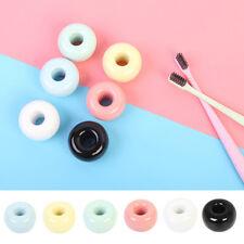 Lovely Round Porcelain Toothbrush Stand Holder Bathroom Organizer/Pen Holder S