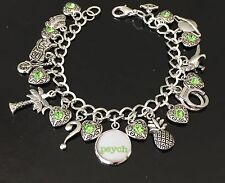 Psych Charm Bracelet, Psychic Detective, Tv Show, Shawn And Gus, Comedy