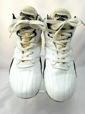 Otomix Mens Athletic Weightlifting White Leather Shoes MX 4000 Size Men's 8.5