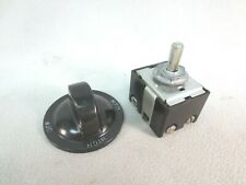 Skutt 3 Heat Switch and Knob - 25Amp 110-240 volts