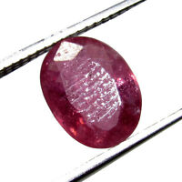 Awesome 3.10Ct. Natural  Oval Cut Transparent Pink Madagascar Ruby Gem -CH 6851