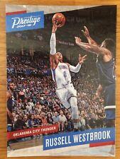 Russell Westbrook 2017/18 Panini Prestige baloncesto Trading Card No126 NBA