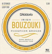 D'Addario EJ81 Irish Bouzouki Strings For Various Scales