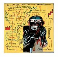 """JEAN-MICHEL BASQUIAT """"ALL COLORED PAST - PART II"""" LIMITED EDITION #1 OF 30"""