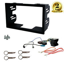 Single/Double Din Car Stereo Fascia, Wiring Fitting Kit for VW Caddy EOS Magotan