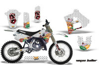 Graphics Kit Decal Sticker Wrap + # Plates For Yamaha YZ125 YZ250 91-92 VEGAS W