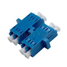 50pcs LC UPC Duplex single-mode Fiber optic Adapter LC Optical fiber Coupler