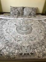 NEW Urban Outfitters Boho Mandala Cotton-Doona Blanket Duvet-Cover Full/Queen