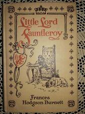 1925 Little Lord Fauntleroy Frances Hodgson Burnett  Illustrated