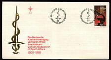South Africa 1981, Cancer Association First Day Cover #C13714