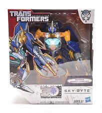 Transformers Generations IDW Voyager Class SKY-BYTE Action Figure Gift Toy Robot