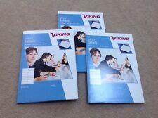 3x brand new Viking Inkjet Labels packs. 99 x 34 mm white 640 labels per box