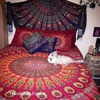 Indian Tapestry Wall Hanging Mandala Throw Hippie Twin Bedspread Gypsy Bohemian