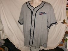 Rare Vintage Starter Athletics Script Gray 90s Jersey! Size Xl Mint Condition!