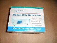 HIGH QUALITY MANUAL DATA TRANSFER  SWITCH BOX DATA SHARING DEVICE