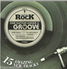 ONE NATION UNDER A GROOVE - CLASSIC ROCK MAGAZINE 15 TRACK PROMO CD