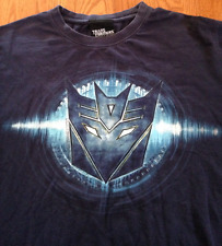 Transformers Official Movie Decepticons Logo T-shirt XL