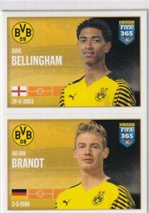 Panini Fifa 365 2022 Sticker No. 203 Jude Bellingham/Julian Brandt